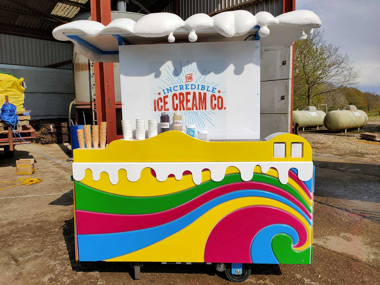 The NEW mobile Incredible Ice Cream Bar
