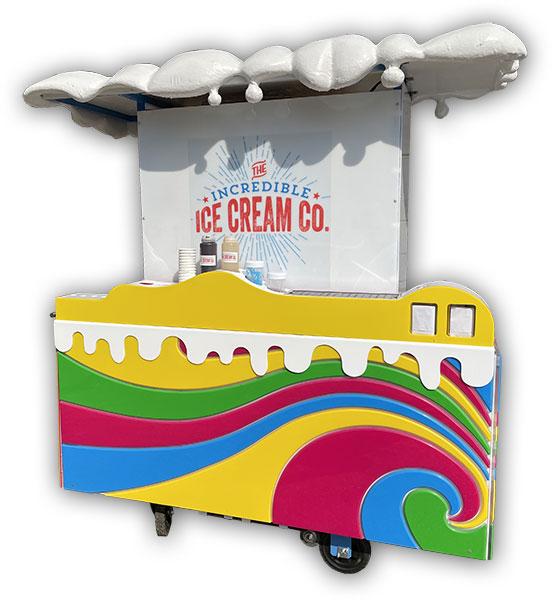 The small Incredible Ice Cream Bar